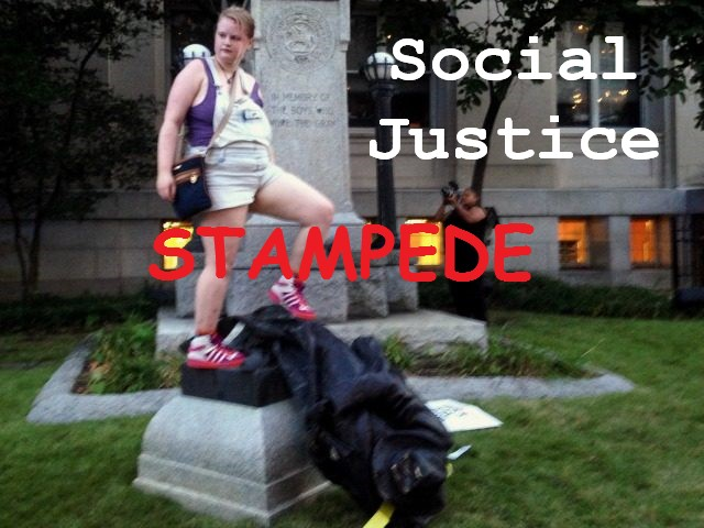 Social justice stampede
