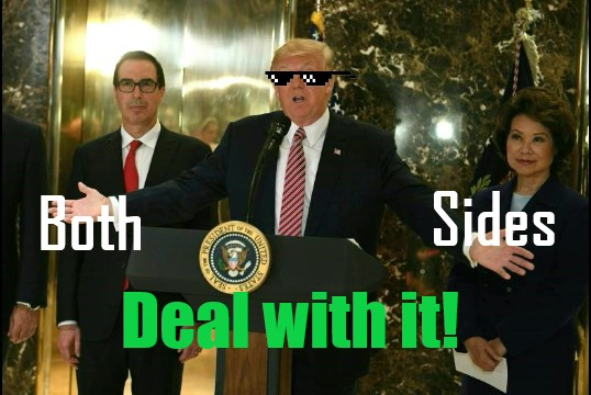 Trump deal with it